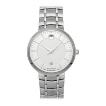 Movado 1881 Automatic Staal 39.5mm Zilver Geen cijfers