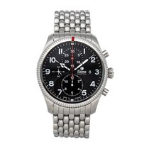 Tutima Steel 43mm Automatic 6402-02 pre-owned