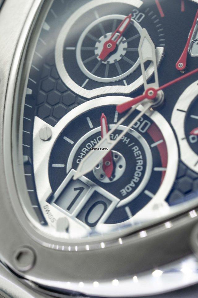 Tonino Lamborghini Chronograph Watch Spyder Stainless Steel 3007