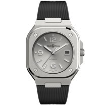 Bell & Ross BR 05 Acero 40mm Gris