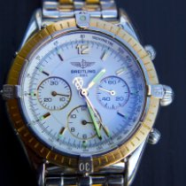 Breitling Chrono Cockpit Gold/Steel White