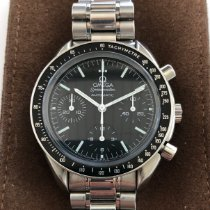 Omega Speedmaster Reduced Steel 39mm Black No numerals United States of America, DC, Washington