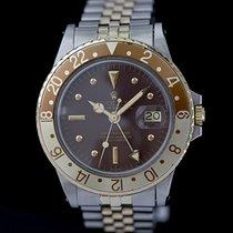 Rolex GMT-Master Gold/Stahl 40mm Braun Keine Ziffern Deutschland, Rosenheim