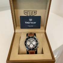 TAG Heuer Autavia Steel 42mm Black No numerals United States of America, California, Pasadena