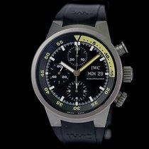 IWC Aquatimer Chronograph Titan 42mm Schwarz Keine Ziffern Deutschland, Rosenheim