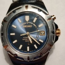 Seiko Kinetic Steel 39mm United States of America, Louisiana, Pearl River
