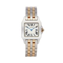 Cartier Santos Demoiselle W25066Z6 or 2698 2000 pre-owned