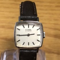 Cyma White gold 23mm Manual winding 1005543 pre-owned