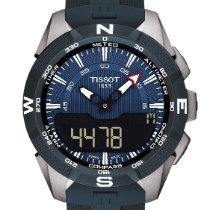 Tissot T-Touch Expert Solar T110.420.47.041.00 Nuovo Titanio 45mm Quarzo