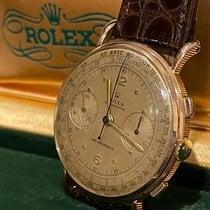 Rolex Roségold 36mm Handaufzug ROLEX Chronograph Vintage Perfect Condition gebraucht