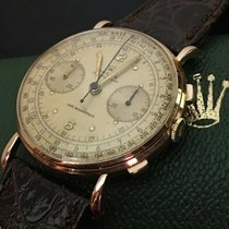 Rolex Chronograph ROLEX Chronograph Vintage Perfect Condition Very good Rose gold 36mm Manual winding