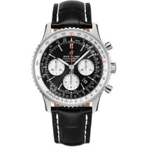 Breitling AB0121211B1P2 Staal 2021 Navitimer 1 B01 Chronograph 43 43mm nieuw