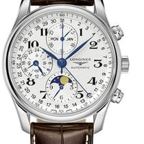 Longines Master Collection Steel 40mm Silver Arabic numerals United States of America, New York, New York