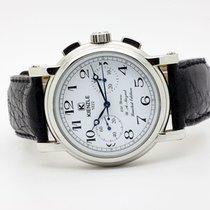 Kienzle Steel Manual winding White Arabic numerals 40mm pre-owned