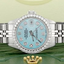 Rolex Lady-Datejust Steel 26mm Blue United States of America, New York, New York