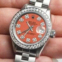Rolex Lady-Datejust Steel 26mm Orange United States of America, New York, New York