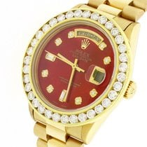 Rolex Day-Date 36 Yellow gold 36mm Red United States of America, New York, New York