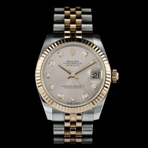 Rolex Lady-Datejust Gold/Steel 31mm Pink