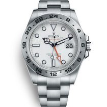 Rolex Explorer II Steel 42mm White No numerals
