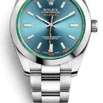 Rolex Milgauss Steel 40mm Blue No numerals United States of America, New Jersey, Totowa