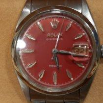 Rolex Oyster Precision Acero 34mm Rojo