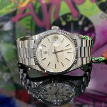 Rolex Day-Date 36 Or blanc 36mm Blanc Sans chiffres France, Paris
