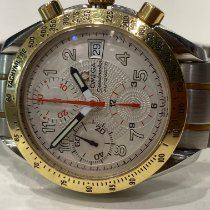 Omega Speedmaster Date Gold/Steel White United Kingdom, Scarborough