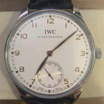 IWC Portuguese Hand-Wound Steel 44mm Silver Arabic numerals Singapore, Singapore