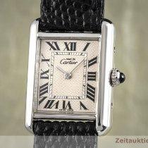 Cartier Zilver 22mm Quartz 216 tweedehands