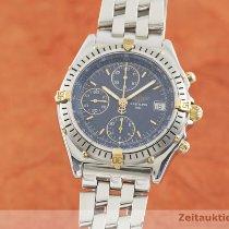 Breitling Chronomat B13047 Odlično Zlato/Zeljezo 39.5mm Automatika