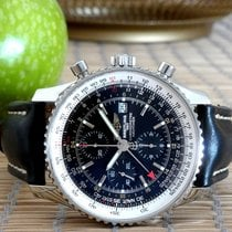 Breitling A24322 Steel Navitimer World 46mm pre-owned