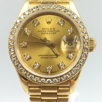 Rolex Lady-Datejust Oro amarillo 26mm Oro Sin cifras