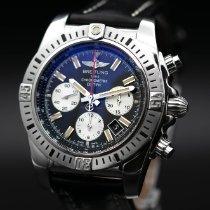 Breitling Chronomat 44 Airborne Stahl 44mm Schwarz Keine Ziffern