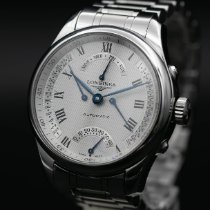 Longines Master Collection pre-owned 41mm Silver Steel