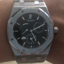 Audemars Piguet Royal Oak Dual Time occasion 39mm Noir Date Acier