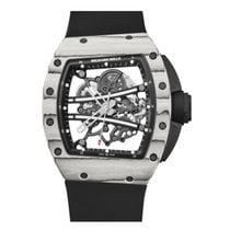 Richard Mille Ceramic Manual winding Transparent No numerals 50.23mm new RM 061