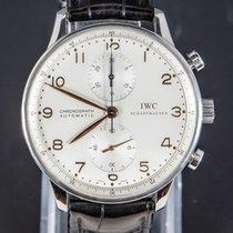 IWC Portuguese Chronograph Staal 41mm Wit Arabisch Nederland, 'S-Hertogenbosch