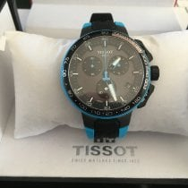 Tissot T-Race Cycling Staal 44mm Zwart