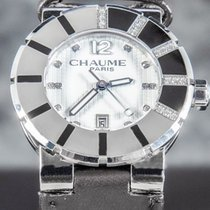 Chaumet použité Quartz 33mm Bílá Safírové sklo