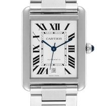 Cartier W5200028 Steel Tank Solo 31mm pre-owned United States of America, New York, New York