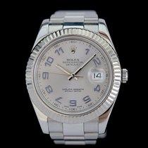Rolex Datejust II Stahl 41mm Silber Arabisch Deutschland, Rosenheim