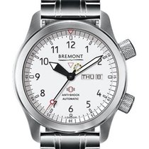 Bremont MB Steel White