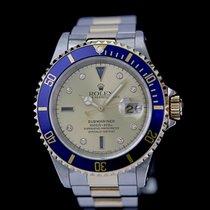 Rolex Submariner Date Gold/Stahl 40mm Blau Keine Ziffern Deutschland, Rosenheim