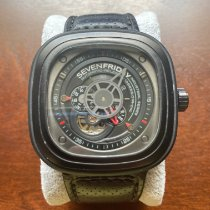 Sevenfriday P3-1 Steel 47mm Black United States of America, Texas, San Antonio