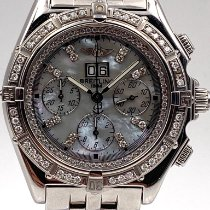 Breitling Crosswind Special Steel 44mm White No numerals United States of America, New York, New York