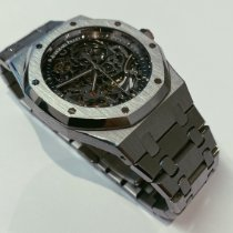 Audemars Piguet Royal Oak Selfwinding Acier 39mm Transparent Sans chiffres France, Paris