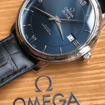 Omega De Ville Prestige Acero 39mm Azul Romanos