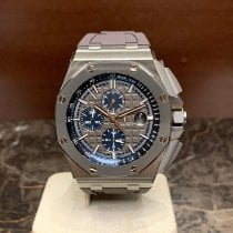 Audemars Piguet Titan Automatik Grau Keine Ziffern 44mm neu Royal Oak Offshore Chronograph