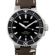 Oris 01 733 7730 4124-07 5 24 10EB Steel 2020 Aquis Date 43.5mm new
