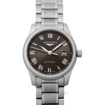Longines Steel Automatic Grey 29.00mm new Master Collection